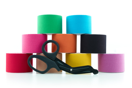 Therapeutic self adhesive tape.